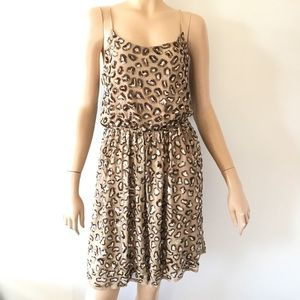 Alice and Olivia sequin Dress Small